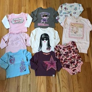 Other - Lot of 9 baby girl sz 12mo pieces
